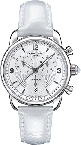 Certina - Wristwatch,Quartz Chronograph, Leather, Woman 1