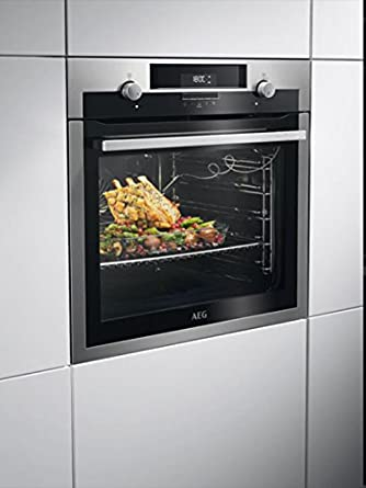 AEG BPE542120M Electric oven 71L A+ Acero inoxidable - Horno ...