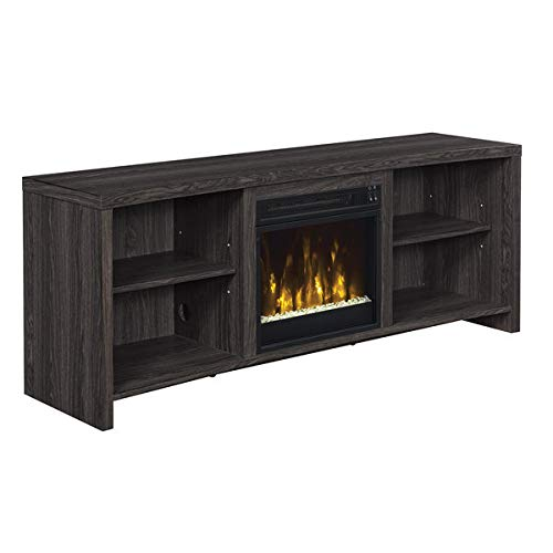 Huntington Electric Fireplace TV Stand in Black Walnut ()