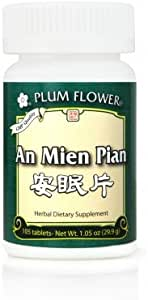 Amazon Com An Mien Pian Peaceful Sleep 84 Ct Plum Flower Health Personal Care