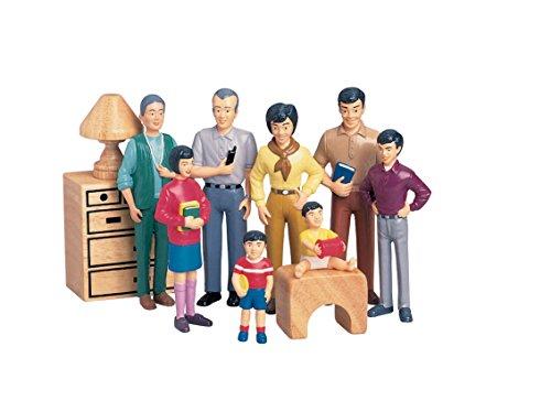 Pretend Play Family - Asian Family - Grandpa to Baby