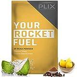 Plix Energy Vegan Pre/Intra Workout, BCAA Powder, Fresh Lime, 5g BCAA With 150 mg Caffeine And 550mg Electrolytes (1 Sachet)
