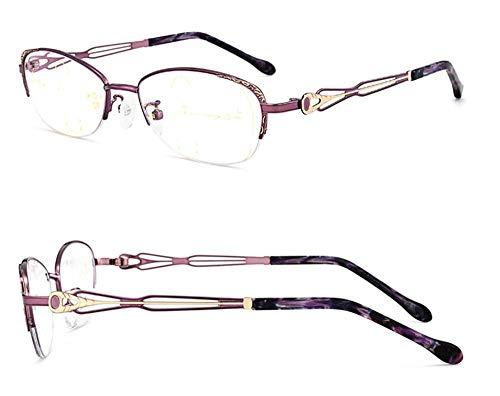 Blu Degrees A250 de de à Lunettes vieillissantes lunettes Lunettes lunettes B150 lointaine intelligence double élégantes automatique à zoom femme lumière KOMNY ray proche et lecture vieilles double lecture usage qfwpt