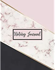 Notary Journal: A Notary Book To Log Notorial Record Acts By A Public Notary