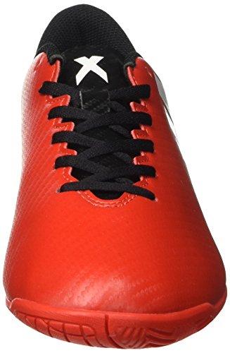 adidas X 16.4 In, Botas De Fútbol Para Hombre Rojo (Redfootwear Whitecore Black)