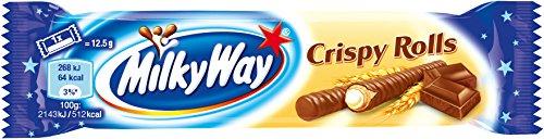 Milky Way Crispy Rolls 25 g (Pack of 24) (Crispy Rolls)