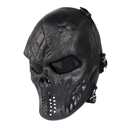 Paintball Mask, Skull Skeleton F...