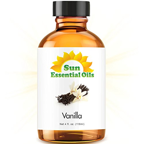 4oz Bulk Vanilla Essential Oil (Large 4 Ounce Bottle)