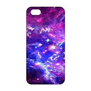 Ultra Thin Galaxy Hipster Cat 3D Phone Case for iPhone 5s