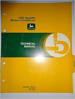 John Deere 1320 Impeller Mower Conditioner Technical Service Shop