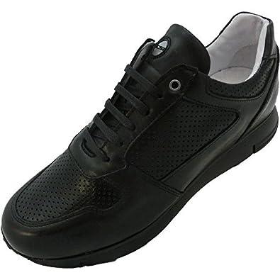 Exton, Herren Sneaker schwarz schwarz, schwarz - schwarz - Größe: 42 Exton