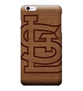 iPhone 6 Cases, MLB - St Louis Cardinals Engraved - iPhone 6 Cases - High Quality PC Case
