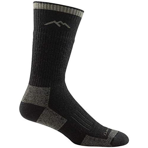 Darn Tough Boot Sock Full Cushion - Men's Charcoal Medium