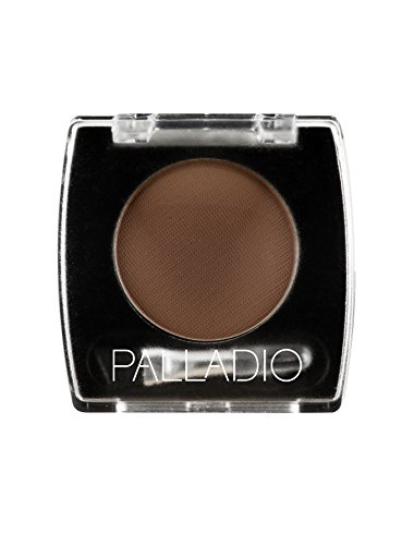 - Palladio Brow Powder for Eyebrows, Dark Brown, Soft and Natural Eyebrow Powder with Jojoba Oil & Shea Butter, Helps Enhance & Define Brows, Compact Size for Purse or Travel, Includes Applicator Brush