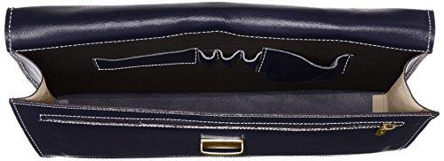 Blu Pelle Ctm Italy Moda 100 Uomo 38x27x7cm Borsa Tutto Vera In Documenti Cartella Made Porta Lavoro Da Chicca xU7aTEqwq