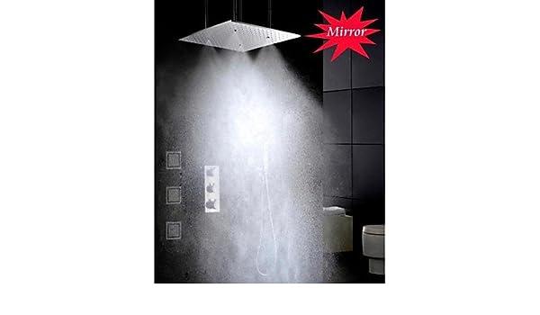 Axiba - Grifo de Ducha termostático para Baño (20 Pulgadas ...