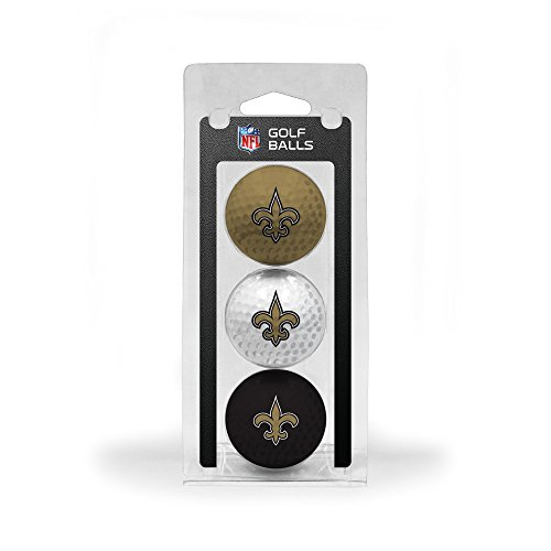 - NFL New Orleans Saints 3-Pack Golf Balls