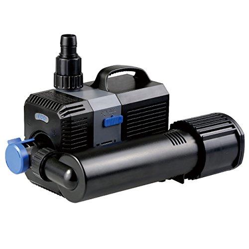 Aquarium submersible fish pond pump 1300gph or 2000gph w for Ultraviolet pond pumps