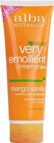 Shave Cream-Mango Vanilla(237ml) Brand: Alba Botanica