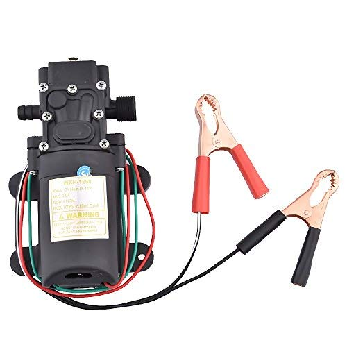 Electric Portable DC 12V Transfer Pump Extractor Suction Oil Fluid Water For Auto Marine Boat Diesel Car Motorbike by YOMNEE (Image #1)