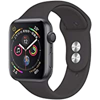 Robotekno Apple Watch Uyumlu Silikon Kordon 42mm 44mm, Silikon Kayış 1 | 2 | 3 | 4 | 5 (42mm/44mm, Koyu Gri)