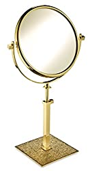 Cosmetic Mirror W/Swarovski Crystal Diamonds
