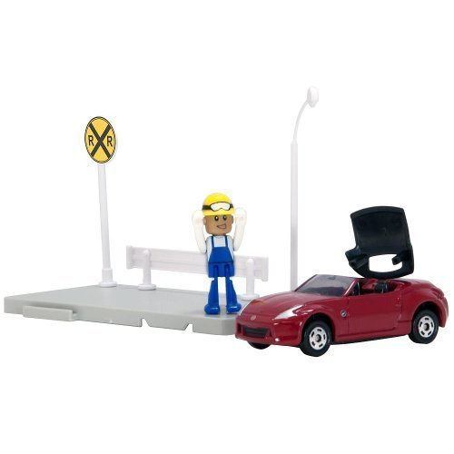 cue World Rally Car - City Nissan Fairlady Z Roadster by Tomica ()