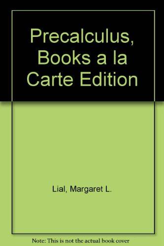 Precalculus, Books a la Carte Edition (4th Edition)