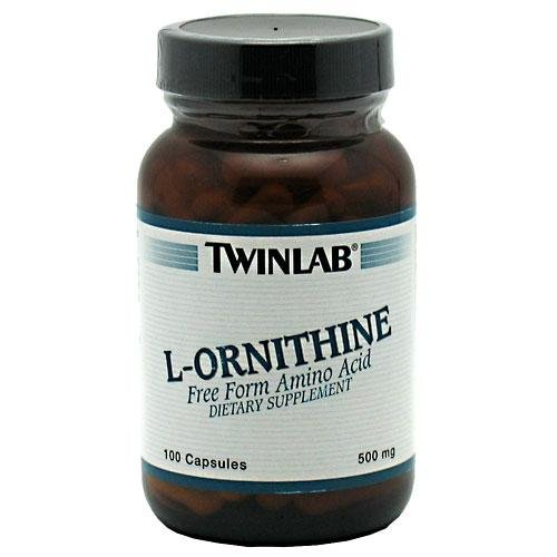L-Ornithine 500mg 100 Capsules