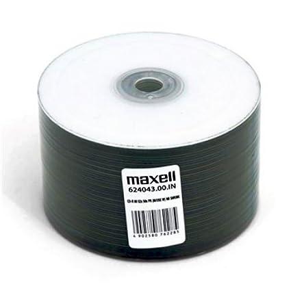 MAXELL CD-R 700MB 52X Printable NO ID SP*50 624043.00.TW ...