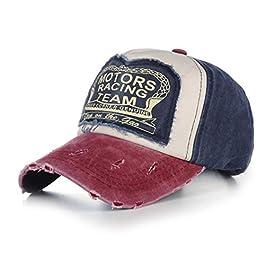 AdronQ Cap Baseball Cap Fitted Hat Casual Cap Gorras 5 Panel Hip Hop Snapback Hats Wash Cap For Men Women Unisex