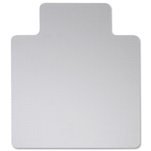 5 Star Chair Mat Hard Floor Protection PVC W900xD1200mm Clear/Transparent Spicers Ltd 915005