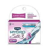 Schick Hydro Silk 3 Razor Blades Refills for Women, 4 Count