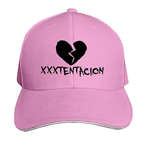 - SsSEYYA Sandwich Cap RIP Xxxtentacion Heart Durable Baseball Hats Adjustable Peaked Trucker Cap Pink