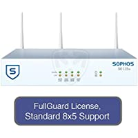 Sophos UTM SG 115w Wireless Appliance StandardProtect Bundle with 4 GE ports, FullGuard License, Standard 8x5 Support - 1 Year