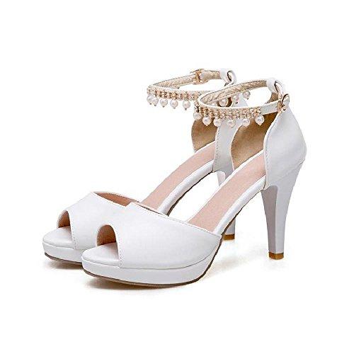 BAJIAN zapatos bajos peep toe se heelsWomen zapatos verano oras Chanclas Alto sandalias LI sandalias T0wAr1qTU
