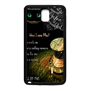 Alice in wonderland Phone Case for Samsung Galaxy Note3 Case