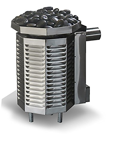 Scandia 240 Ultra Sauna Gas Heater, 40,000 BTU, Maximum 616 Cubic feet, Liquid Propane - Piezo Ignition Heater for Sauna Room Made in USA
