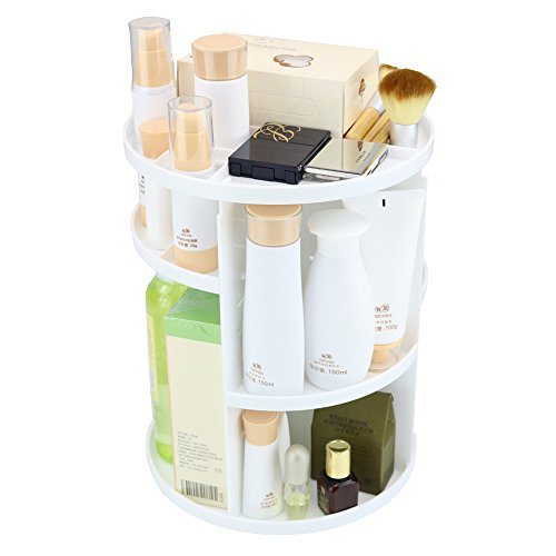 PFFY 360 Degree Rotating Makeup Organizer Make up Organizers