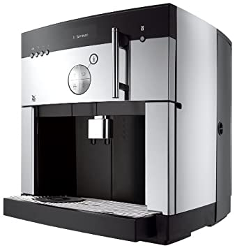 WMF 1000 pro S Barista - Cafetera (Independiente, Negro, Acero inoxidable, LCD