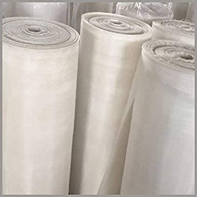 100 microns Mesh Size Opaque Off-White 38 Width 10 yards Length Nylon 6//6 Woven Mesh Sheet 32/% Open Area