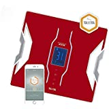 Tanita RD-953 Analyseur de composition corporelle Rouge connecté Bluetooth My TANITA Healthcare App