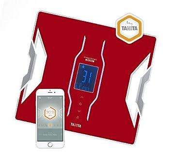 Tanita rojo conectado Composición Corporal Monitor: Amazon.es: Salud y cuidado personal