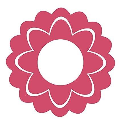 Amazon geometric flower icon vinyl decal sticker 8 wide pink geometric flower icon vinyl decal sticker 8quot wide pink mightylinksfo