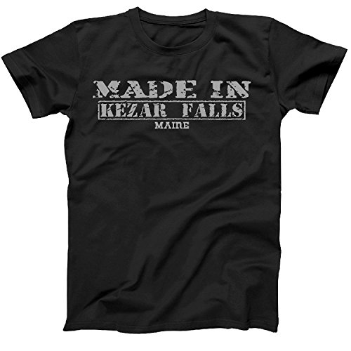 Retro Vintage Style Made In Maine  Kezar Falls Hometown Shirt