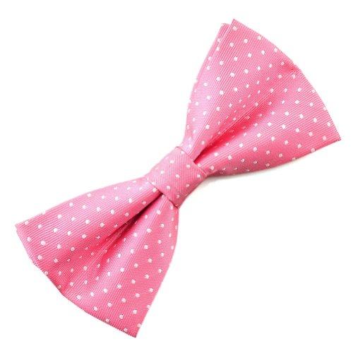 White / Pink Polka Dots - 3