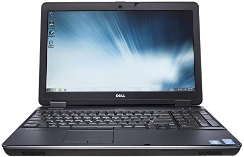 Dell Latitude E6540 15.6″ FHD High Performance Business Laptop Computer, Intel Core i7-4800MQ up to 3.7GHz, 8GB RAM, 500GB HDD, USB 3.0, DVD, HDMI, Windows 10 Professional (Certified Refurbished)