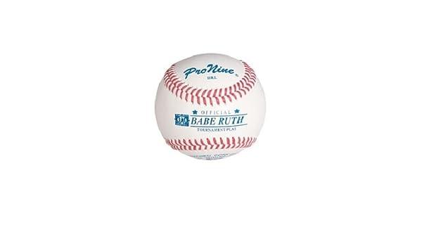 1 docena de Pro nueve pelotas de béisbol Babe Ruth Liga Brl ...