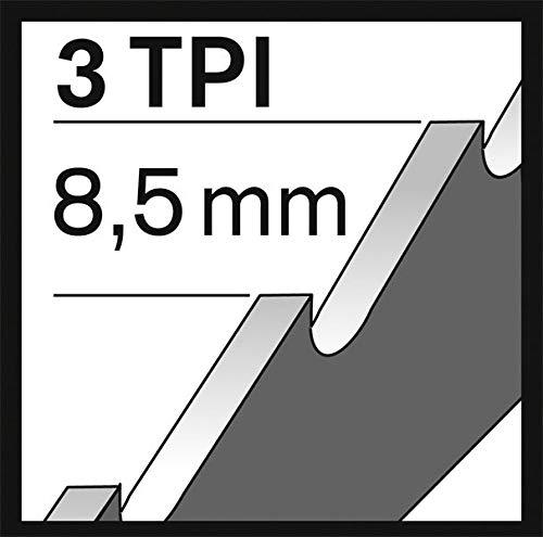 Hawera S 1241 HM Lama per sega a sciabola TC-Fiber+Plaster per materiali in fibra e cemento