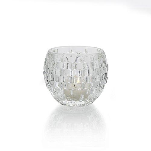 Mikasa Palazzo 3.75-Inch Votive (Basket Weave Candle Holder)